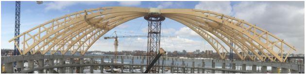 Строительство Купола из Большепролетных КДК